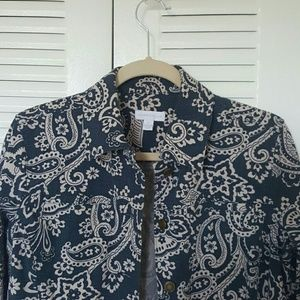Charter Club PreOwned Floral Jacket - Size Small